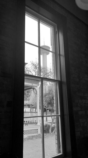 San Antonio, Texas Tower Of America Window Indoors  Day Built Structure Architecture Looking Through Window No People
