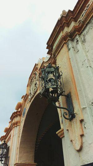 Details Antique Ironwork  Lamp Post Sangabrielmissionplayhouse San Gabriel Rainy Days California HTC One M9