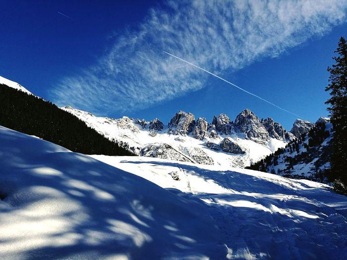 Snow Sky Mountain Outdoors Cloud - Sky Landscape Nature No People Beauty In Nature Day Kalkkögel
