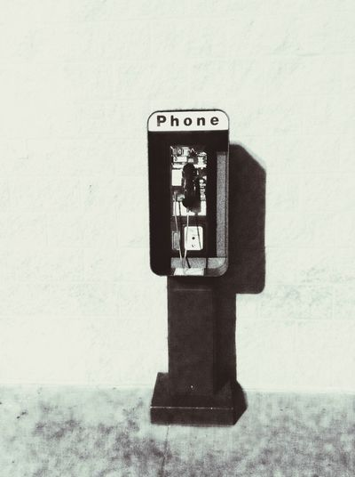 Vintage Payphone The Minimals (less Edit Juxt Photography) Monochrome