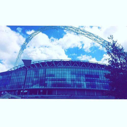 Wembely Stadium Built Structure Sky First Eyeem Photo