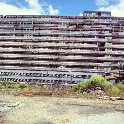 Heygate Walworth Walworthroad Brutalist architecture derelict