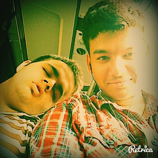 College just another day in bus! :P Selfie Awkward