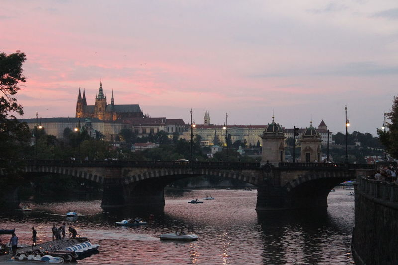 Sunset over Prague Prague Sunset CityWalk Cities Of Europe Cities Canonphotography Wonderful Place Photography Evening Sun Trip Photo Trip With Friends Praha Taking Photos