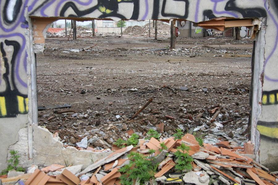 Cityscapes Dust Factory Graffiti Nature Ruins Solitude Urban Archeology