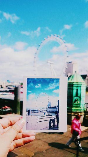 London LondonEye Poloroid Photography