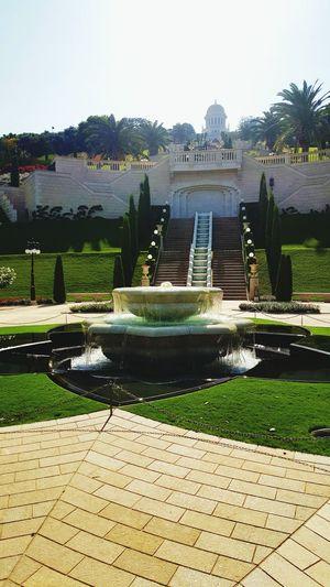 Isreal  Haifa Garden Stunning