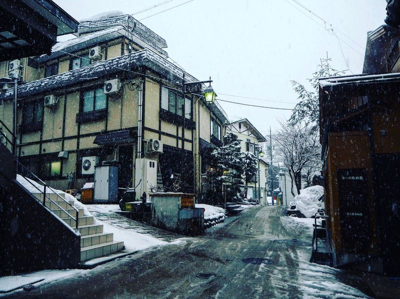 WINTER SEASON IS COMING Snow Winter Architecture Building Exterior Cold Temperature Built Structure Outdoors No People City Day Snowing Sky