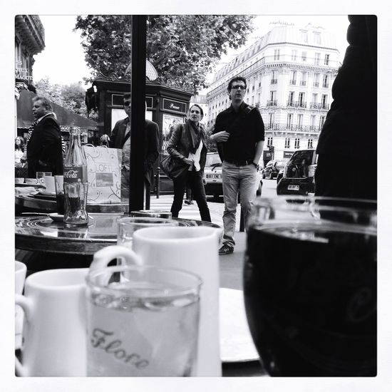 Tale of Two Cafes Paris France Paris Saint Germain Coffee Travel