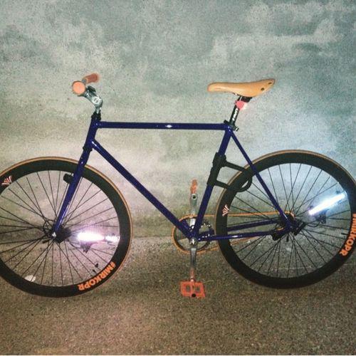 On Your Bike Mybike Lights Monkeylights Fun MirkoPR Fixed Bike #Contropedale