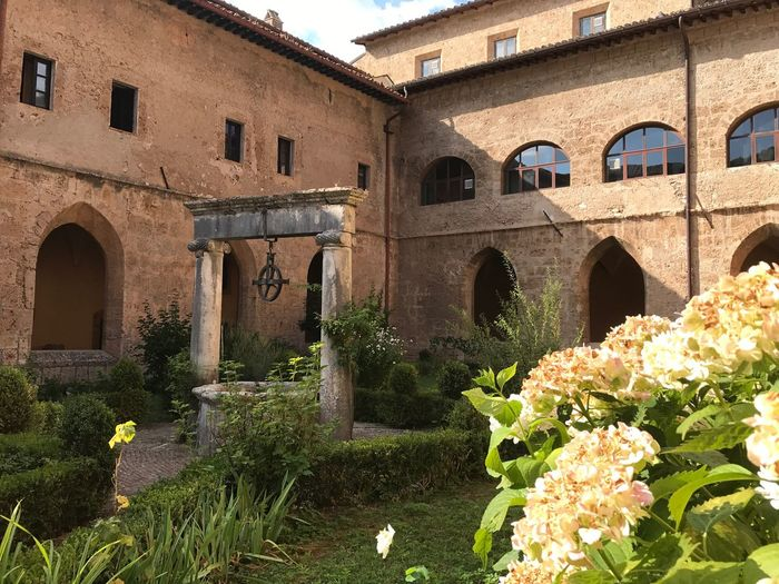 Subiaco Architecture Tranquility Peace And Quiet monastery Italy Ora Et Labora Tranquil Scene Religious Architecture