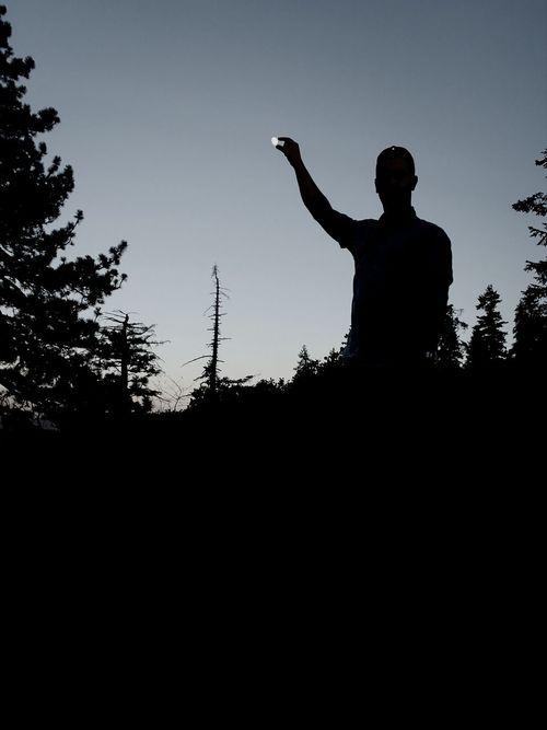 Usa Trip 2013 put the Moon on the Night Sky Kings Canyon