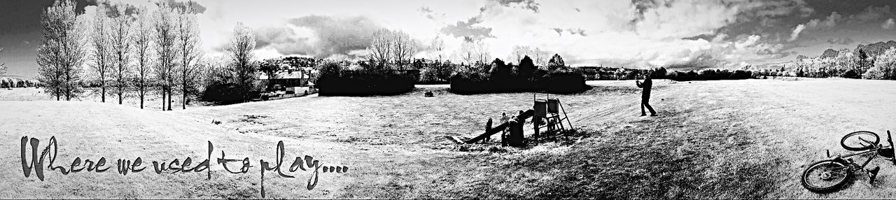 South Where We Used To Play Broken Park Childhood Facing South And Remembering Why? Taken Away Blackandwhite Photography