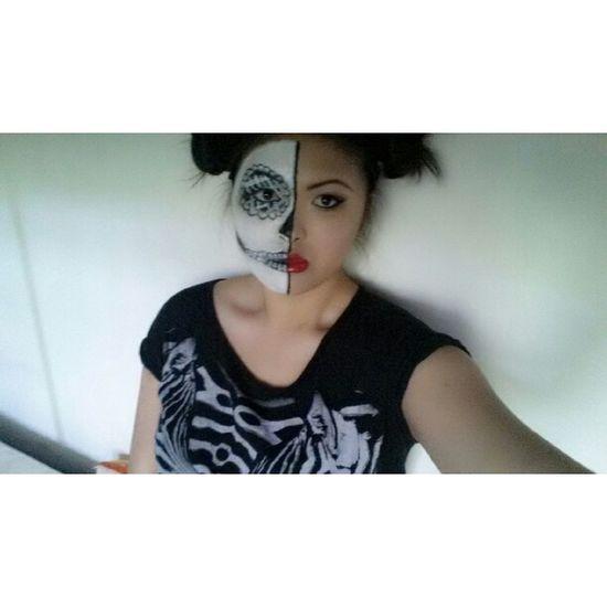 Halloweenmakeup Self Portrait Happy Halloween #October31st Instagram