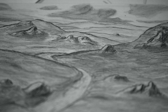 Arid Climate Arid Landscape Backgrounds Copy Space Desert Drawing Geology Landscape Natural Pattern Power In Nature Sand Sand Dune Zaap'sdraws