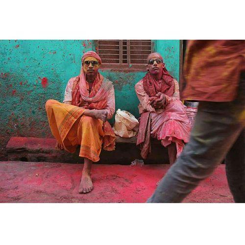 SHOWSTOPPERS MARCH 2015 FESTIVAL HOLI NANDGAON,INDIA Ishanagarwalphotography Streetphotography Holi Colour Art