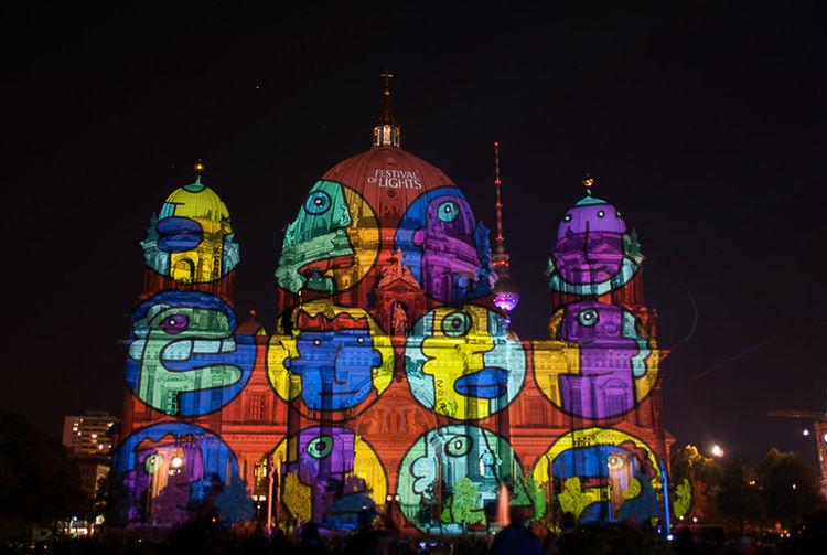 Festival Of Lights 2015 Berliner Dom