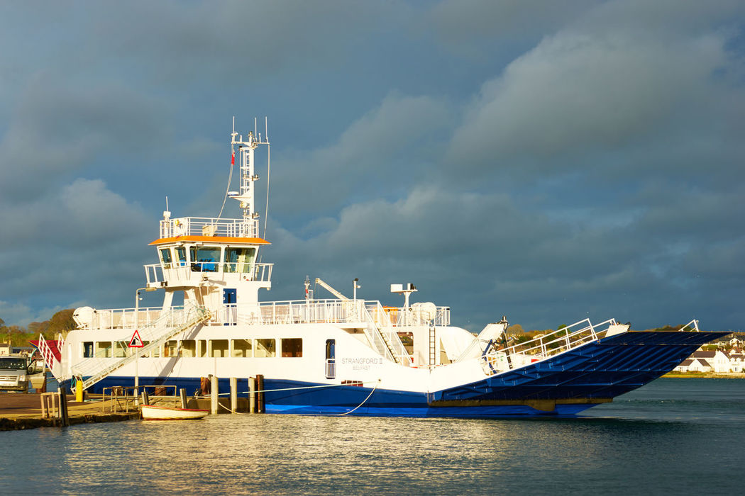 Boat Ferry Passenger Portaferry Strangford Vessel