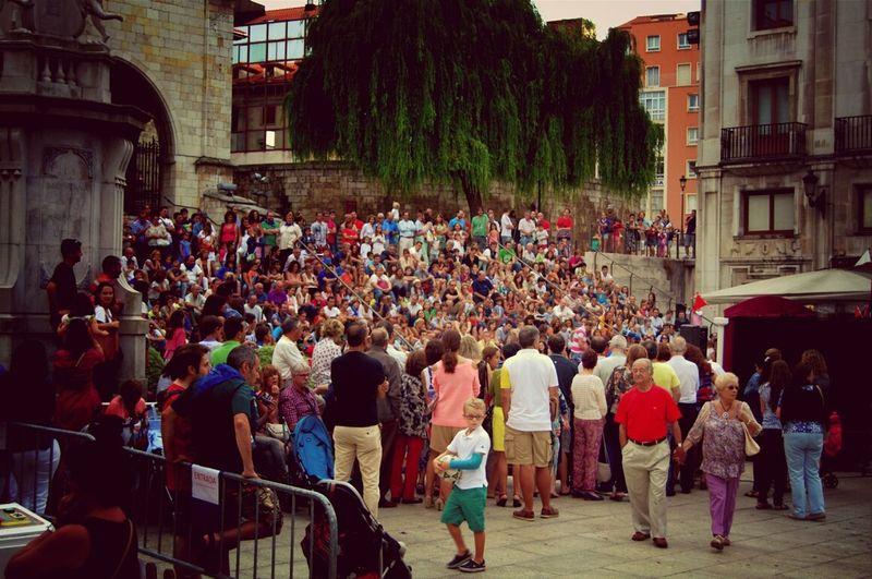 Teatro Street Theatre Semana Grande Santander