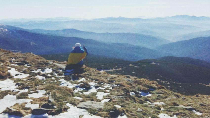 Ukraine 💙💛 Carpathian Mountains Trekking Ilovemountains Onthetop Hoverla Sulikopics Mountains Nature Travel Outdoors Hiking Beauty In Nature One Person