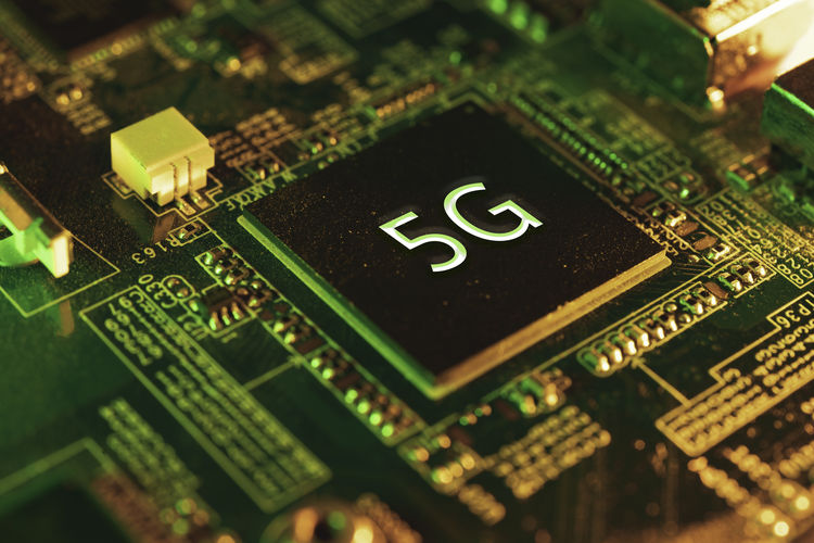 5g chip text on