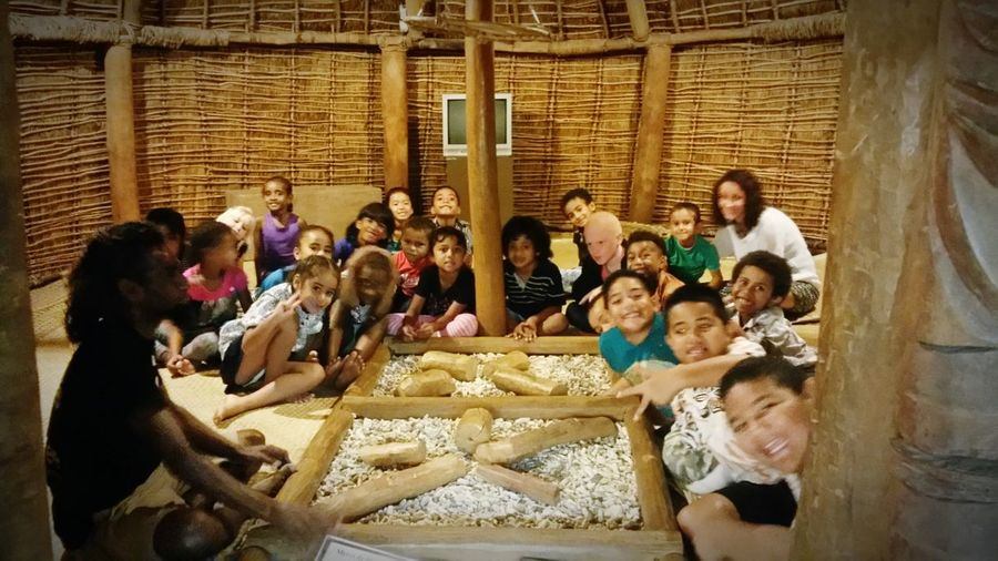 Museum Children Visite Guide Traditional House Wooden House
