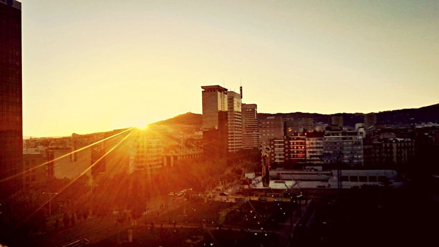 The Culture Of The Holidays Barcelonalove WithBestFriends Sunset Beautiful Day