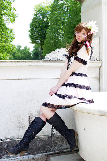 Beauty Cosplay Cosplayer Day Lolita Outdoors Person Portrait Woman Young Adult Young Women