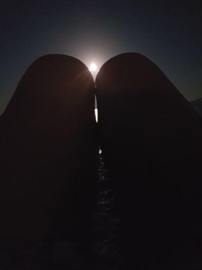 EyeEmNewHere EyeEm Gallery Full Moon Mediterranean  EyeEm Best Shots Tranquility Silhouette Water