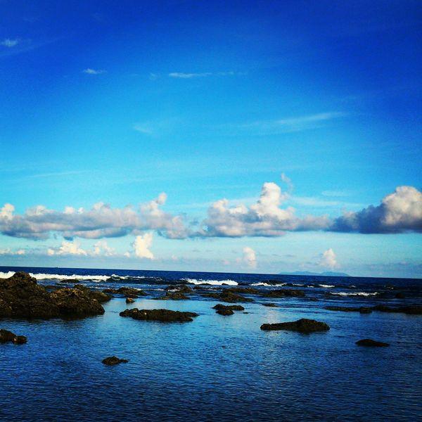 藍天白雲◆◆◆ EyeEm Nature Lover Ocean Nature Collection Blue