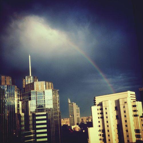Sky Rainbow Cloud