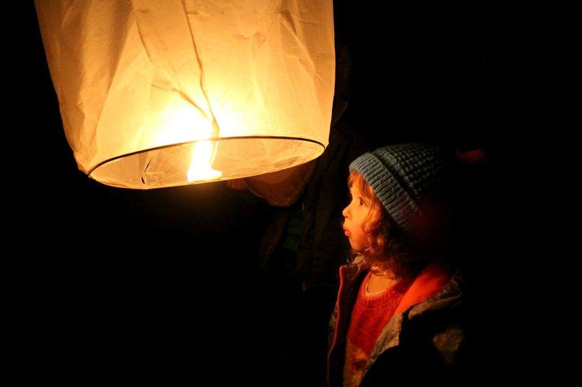Lighting Equipment Paper Lantern Illuminated Night Low Angle View People Flame Close-up Outdoors Winter Luminosity Black Background Celebration Chinese New Year 2017