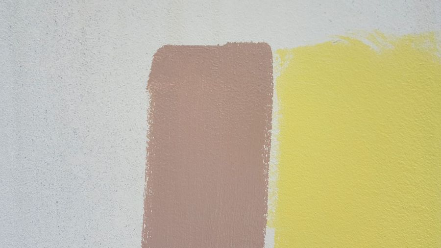Two Tones Yellow Paint No People Construction Site Built Structure Building Exterior Compare Contrast Color  Architecture Colour Pallette Design Decoration Wall Paintings Wall Painting Paint Painting DuluxVisualizerContest DULUX Wall - Building Feature Colorful Yellow Color Color Construction Multi Colored
