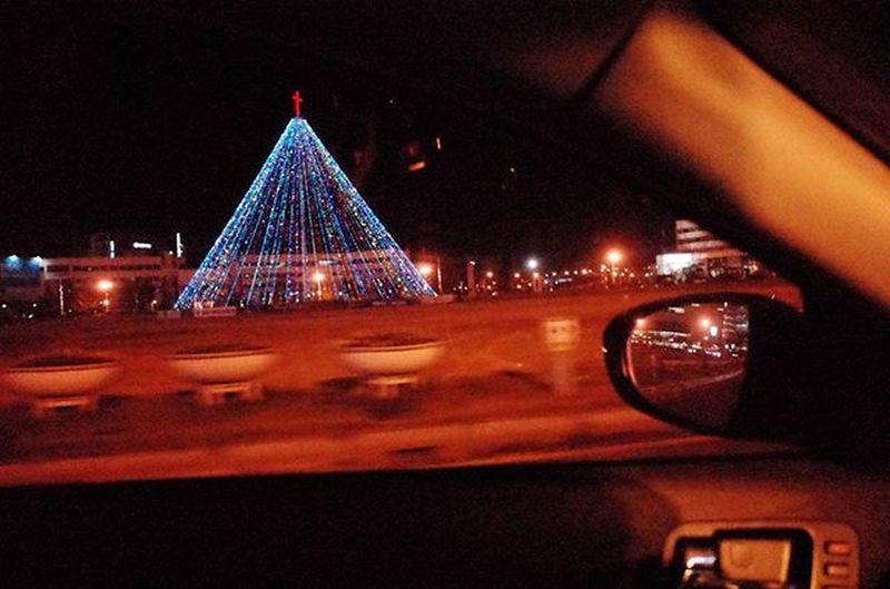 Richo Gr2 광장 한가운데 크리스마스