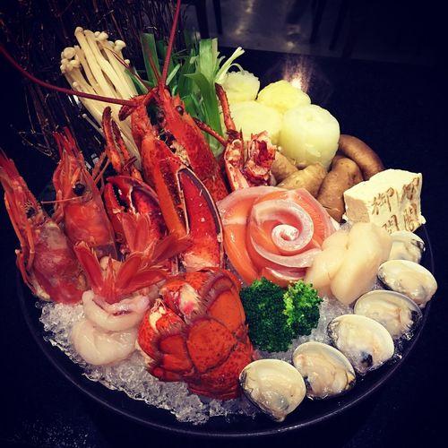 Sushi Nigiri Nigiri Sushi Sushi Time Boston Lobster Shrimps Salmone Hamaguri Scallops First Eyeem Photo
