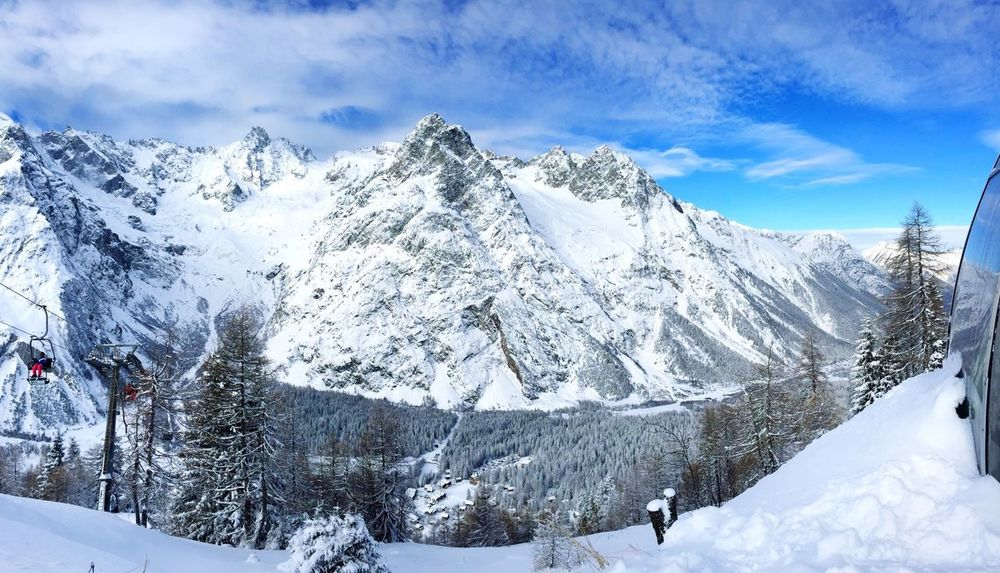 Magique ❄️ Neige❄ Snow ❄ Snow Paysage Ski Montagne Panorama Mountains