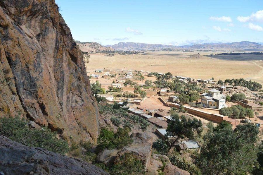 EyeEm Selects Africa Eritrea High Angle View Mountain Landscape House Church Orthodox Tewahdo Love