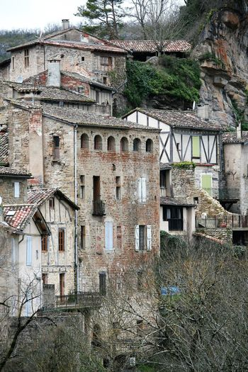 Architecture Bad Condition Building Exterior Built Structure Church Day Destruction Deterioration Exterior Façade History House Landscape Of France Obsolete Old Old Houses Outdoors Penne, Tarn, France Rainy Days Residential Structure Ruined Window