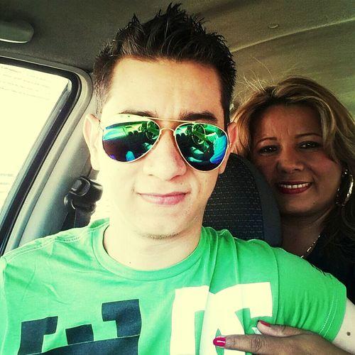 Selfie madre como te quiero. Dios me la bendiga mas.