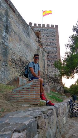 Walking Around The City  Castle Ruin Relaxing That's Me Hello World Vacation Time Enjoying Life España🇪🇸 Summer ☀