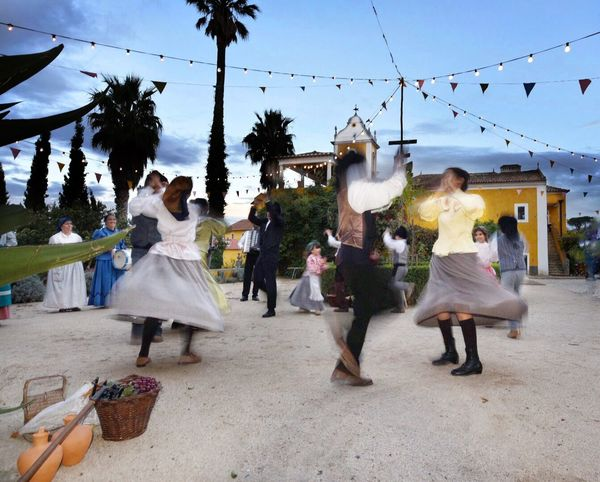 Dancing Wedding Celebration Performance Tradition Arts Culture And Entertainment Enjoyment Traditional Clothing Dancer Cultures Adult Only Women Celebration Event Full Length Fun Women Wedding Ceremony Adults Only Fashion Bride