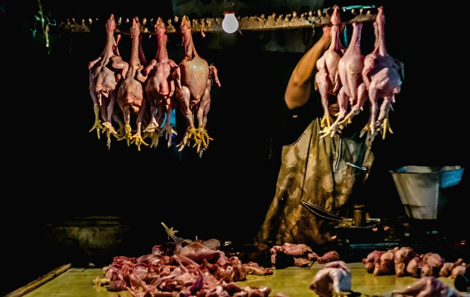 Food Meat Ham Streetphotographer Light And Shadow Bandungcity Indonesia_photography People Streetphotography Streetphotographybandung Night Men Light Chickens Chicken Meat