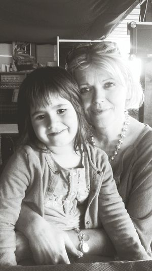 My Mom and My Niece<3