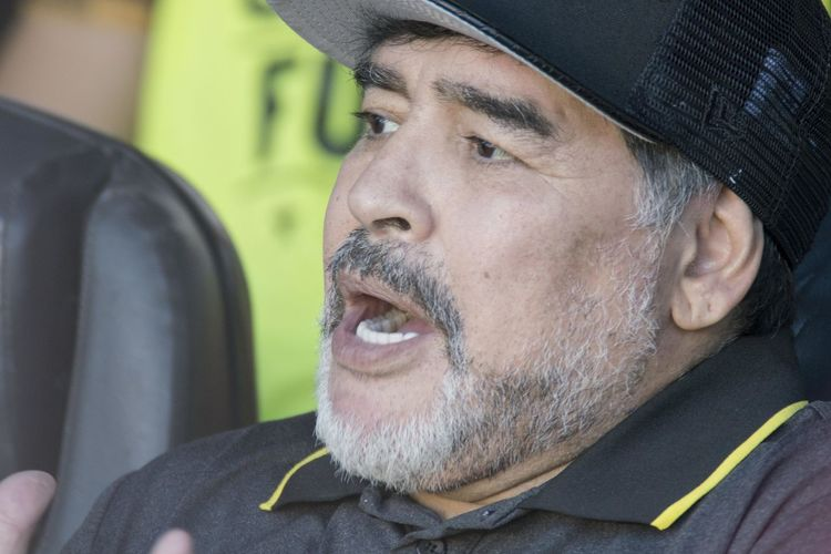 Close up of former Argentine footballer Diego Armando Maradona, who now heads a team from Serie B of Mexico. Football Maradona Adult Beard Cap Car Close-up Clothing Diego Armando Maradona Facial Hair Hat Headshot Human Face Males  Mature Adult Mature Men Men Mid Adult Motor Vehicle Mustache One Person Portrait Real People