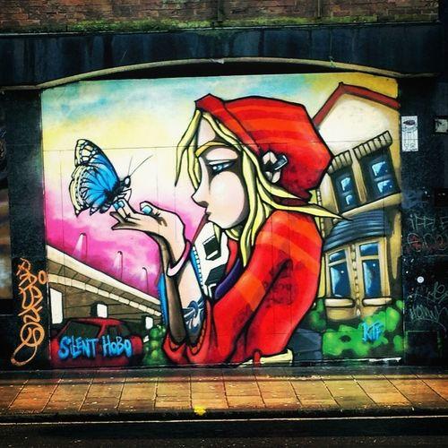 Graffiti Streetart Silenthobo