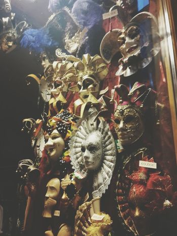 Masks Creepywindowsunday Vienna Taking Photos