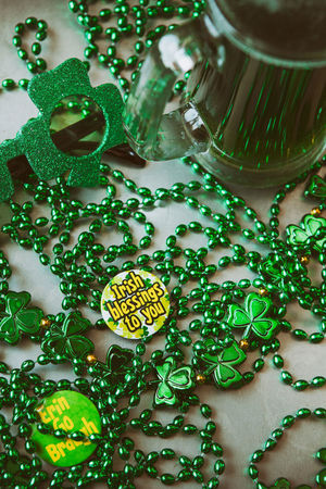 Image series for St. Patrick's Day with a filtered look. Beer Copy Space Green Green Beer For St Patrick's Day Holiday Saint Patrick's Day St. Patrick's Day St. Patricks Day Green Beer Irish Overhead Party