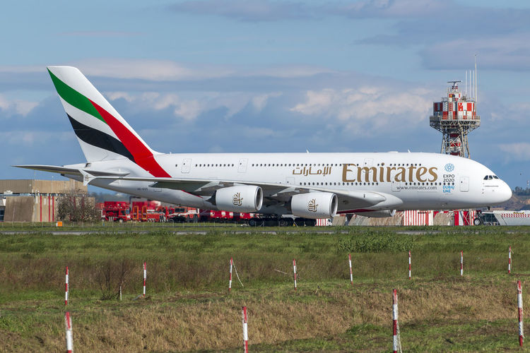 A380 Emirates Airlines in Roma Fiumicino A380-800 A380-861 Airbus Airbus A380 Dubai Emirates Airlines Fiumicino Airport Flying High Roma Rome Aerospace Industry Air Vehicle Airplane Airport Runway Emirates Italy❤️ Mode Of Transportation No People Public Transportation Sky Transportation Travel