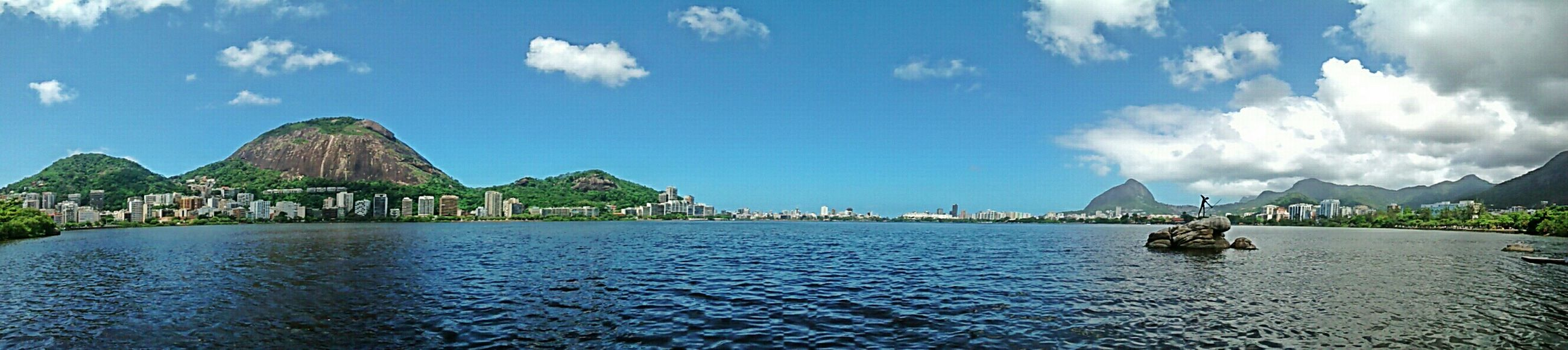 Bye rio ? Panorama Landscape Sea Taking Photos Hello World Nature Aky Clouds Montain  Nofilter