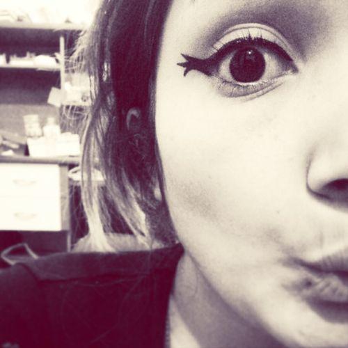 Eyes Blackandwhite Makeup Girls